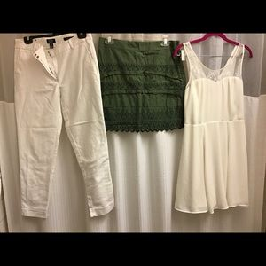 Bundle lot of summer clothes clothing women size 4
